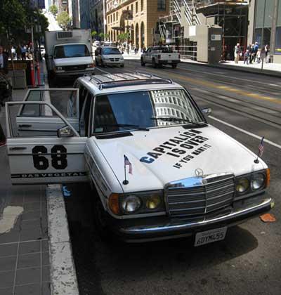 CIO car with 68